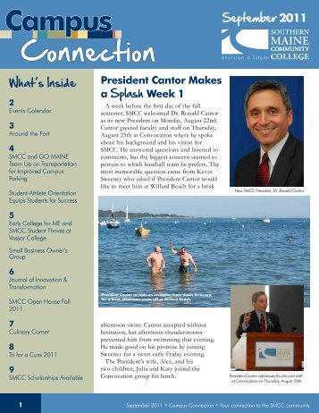 Campus Connection September 2011 - Southern Maine Community ...