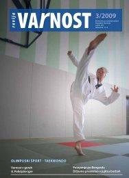 VARNOST - 3.indd - Ministrstvo za notranje zadeve