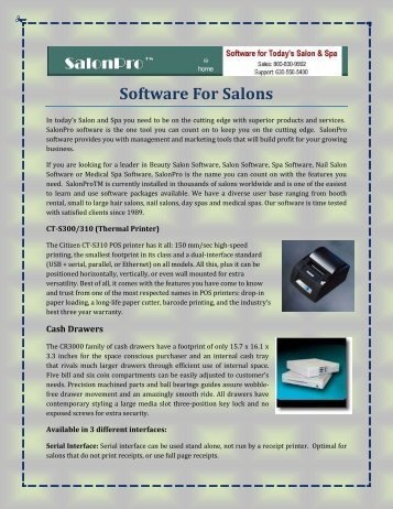 Software For Salons