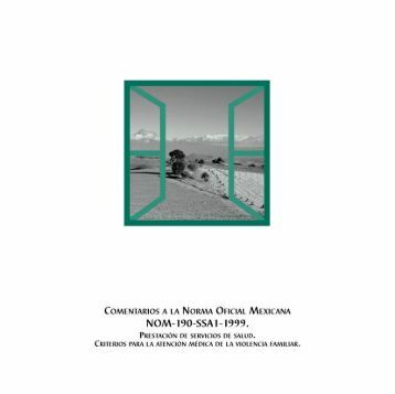 Comentarios a la Norma Oficial Mexicana NOM-190-SSA1-1999