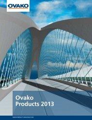 Product Catalogue 2013 - Ovako
