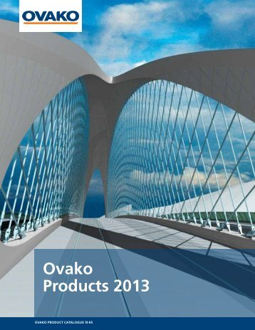 Product Catalogue 2013 - Ovako
