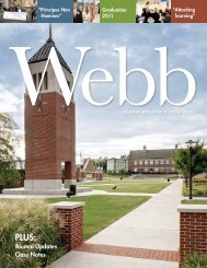 alumni updates Class notes - Webb School of Knoxville