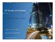 HP Storage and VMware - VMware Communities