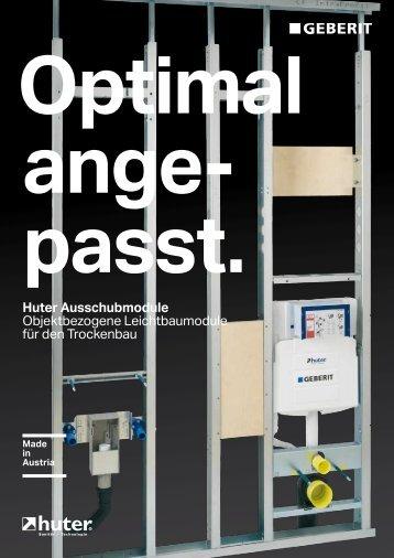 Prospekt Objektbezogene Leichtbauelemente (PDF 1,95 MB)