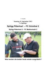 SpVgg Pittenhart – FC Grünthal 2
