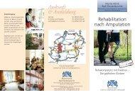 Auskunft & Anmeldung - Moritz Klinik
