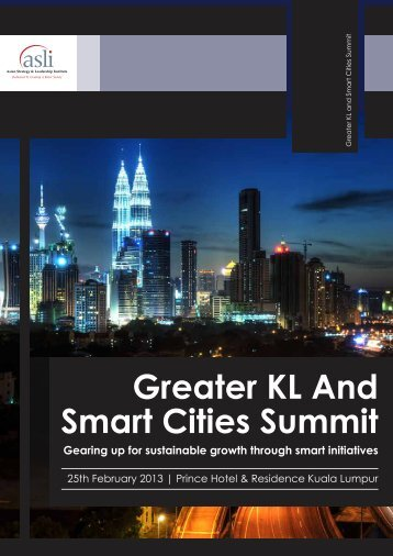Greater KL and Smart Cities Summit - Asian Strategy & Leadership ...