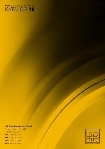 Vollständig Neu - H+B | BELEUCHTUNGSSYSTEME GmbH