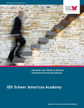 Training Brochure-2009.qxp - IDS Scheer AG