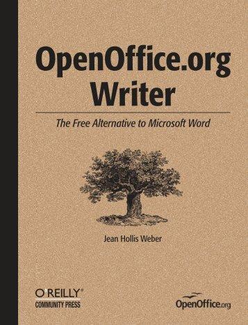 OpenOffice.org Writer 1.1 - O'Reilly Media