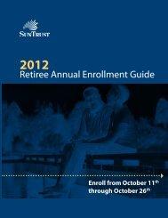 Retiree Annual Enrollment Guide - SAS-Origin