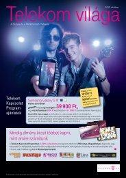 Telekom világa 2012. október - T-Mobile