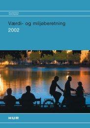 HURs værdi- og miljøberetning 2002 - Movia