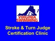 VSI S&T Judge Certif.. - Virginia Swimming