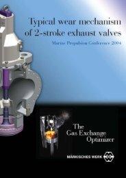 Exhaust valves wear - Martin's Marine Engineering Page