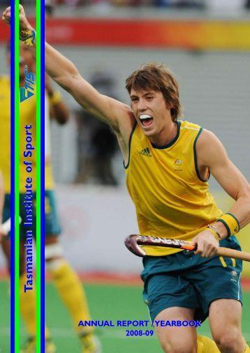 2008-09 - Tasmanian Institute of Sport
