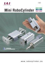 Mini RoboCylinder - Esco Drives & Automation