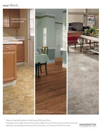 Insight Plus product page - Mannington