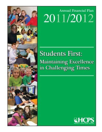 2011-12 Annual Financial Plan - Henrico County Public Schools