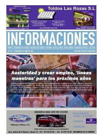 nº 156 - 2ª quincena de junio de 2011 edición gratuita quincenal