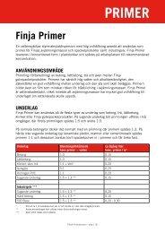 PRIMER - Finja