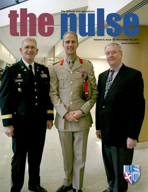Vol. 6, Issue 18 11/18/11 - Uniformed Services University of the ...