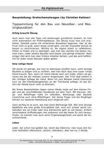 Drehschemelwagen - Digitalzentrale