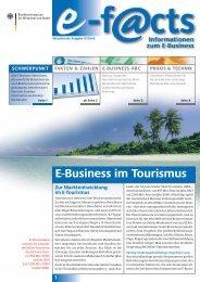Download der neusten e-f@cts Broschüre 07/05 ... - Web-Tourismus