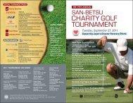 charity golf tournament charity golf tournament - Japanese Chamber ...