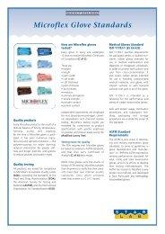 Microflex Glove Standards