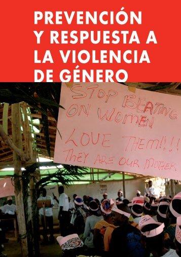 capítulo 10 prevención y respuesta a la violencia de género