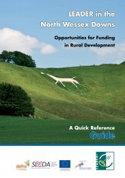 LEADER brochure - North Wessex Downs Area of Outstanding ...