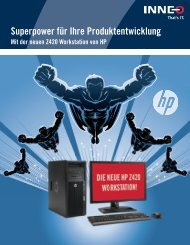 HP Workstation Broschüre - Inneo