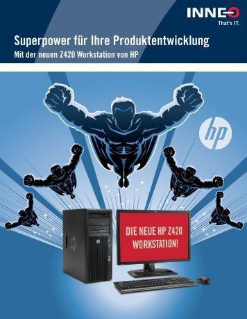 HP Workstation Broschüre - Inneo
