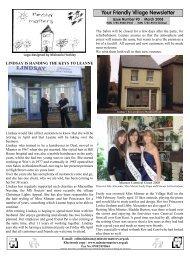 Your Friendly Village Newsletter - Minster Matters