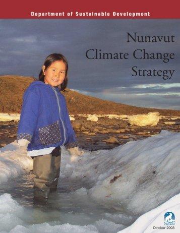 Nunavut Climate Change Strategy