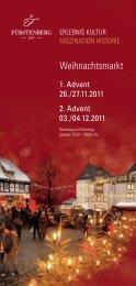 Fürstenberg Weihnachtsmarkt Flyer - Fleischerei Wolfgang Kadel ...