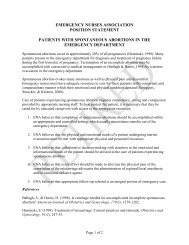 Spontaneous Abortion - Emergency Nurses Association