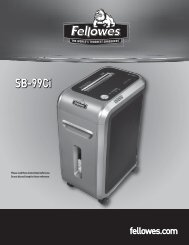 SB-99Ci - Fellowes Shredder