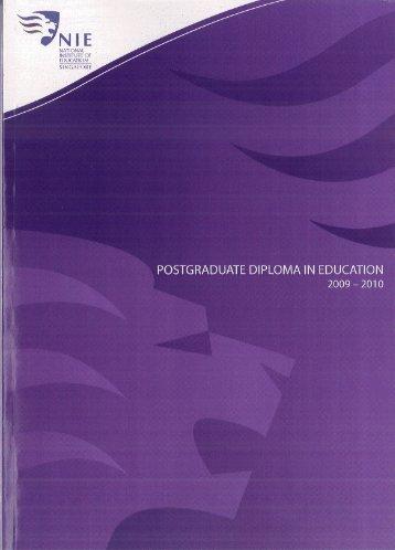 CURRICULUM STUDIES - NIE Digital Repository - National Institute ...