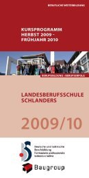 2009/10 - Landesberufsschule Schlanders