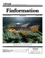 February - Greater Pittsburgh Aquarium Society