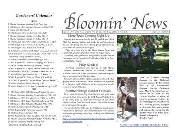 The Gardener 39 S Journal June 2011 Sumter County