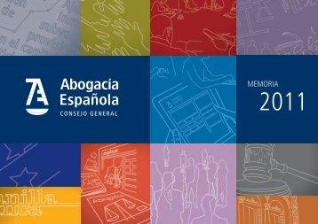 MEMORIA - Abogacía Española