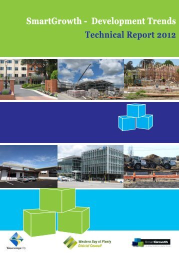 SmartGrowth - Development Trends Technical Report 2012