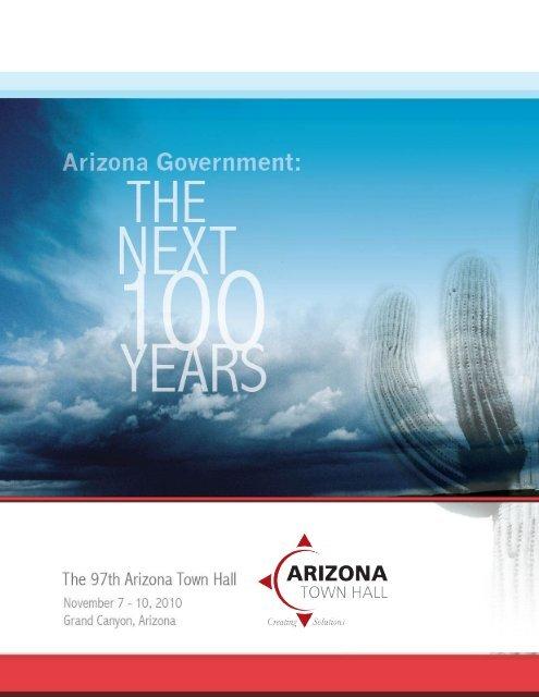 Full Agenda - Arizona Town Hall