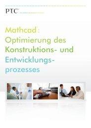 Mathcad: Optimierung des Konstruktions- und ... - Inneo