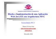 Metodología y Herramientas para el Desarrollo del Proyecto - Dpto ...