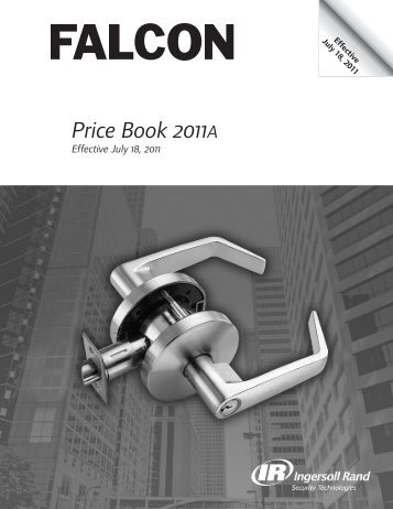 Falcon July 18, 2011A Pricebook.pdf - Access Hardware Supply